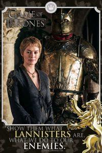 plakat z serialu gra o tron