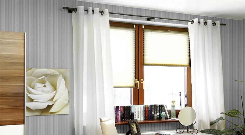 nowoczesne okienne plisy okienne